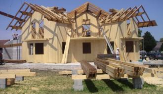 Россияне предвзято относятся к деревянному домостроению