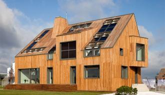В Башкирии развивают энергоэффективное деревянное домостроение