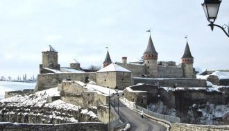 За первый месяц нового года замковый мост в Каменце заработал более 200 тысяч гривен