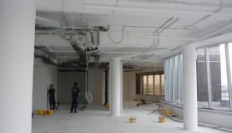 Организация ремонта в офисе
