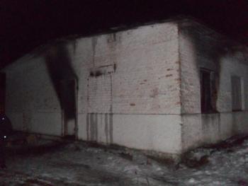 В Красиловском районе горел животный комплекс. 41-летний мужчина погиб