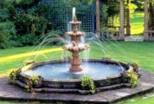 Обустройство фонтана на садовом участке